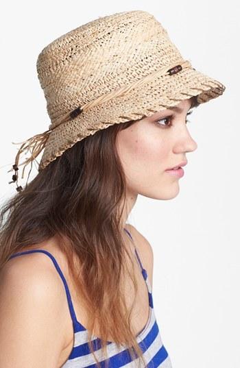 Nordstrom Raffia Bucket Hat