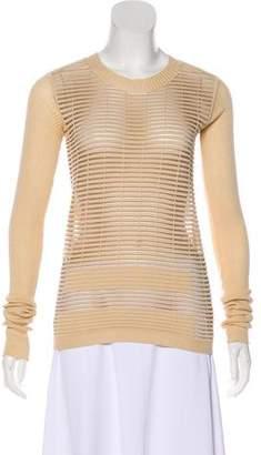 Rick Owens Textured Long Sleeve Sweater