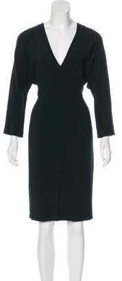 Joseph Long Sleeve Midi Dress