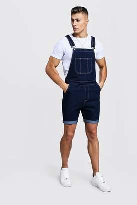 boohoo Slim Fit Short Length Overalls