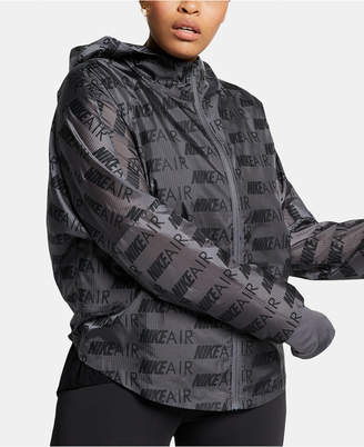 Nike Plus Size Air Hooded Running Jacket