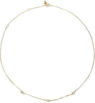 Loren Stewart - Fairy Floss 9-karat Gold Diamond Choker