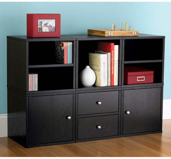 Container Store Premium Cube Center Ebony
