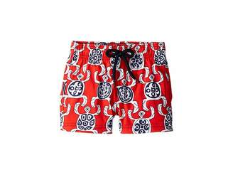 1343d2e88e Vilebrequin Kids Primitive Turtles Swim Trunk (Toddler/Little Kids/Big Kids)