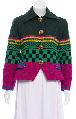Christian Lacroix Patterned Wool Jacket