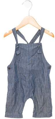 Message In The Bottle Boys' Striped Overalls w/ Tags