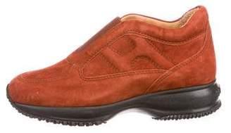 Hogan Suede Slip-On Sneakers