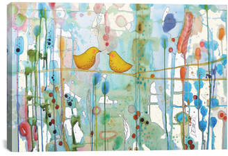 Sylvie icanvasart Dans Chaque Coeur By Art Licensing Demers