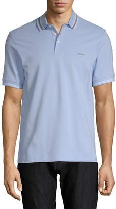 Ermenegildo Zegna Stripe Polo Shirt