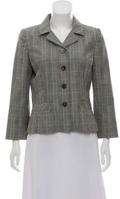 Oscar de la Renta Tailored Wool Blazer