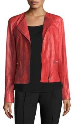 Lafayette 148 New York Caridee Leather Jacket