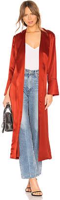 Michelle Mason Flare Cuff Trench Coat