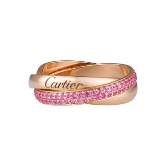 Cartier Trinity pink gold ring