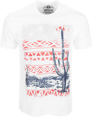 American Rag Men Southwest Cactus Graphic T-Shirt