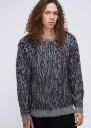 Needles Leopard Mohair Sweater