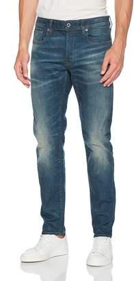 G Star Men's 3301 Slim Jean in Beln Stretch Denim