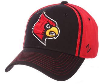 Zephyr Louisville Cardinals Pattern Pipe Stretch Cap