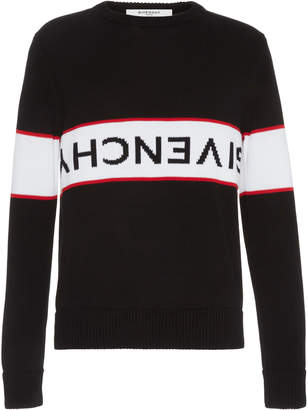 Givenchy Striped Logo Sweater