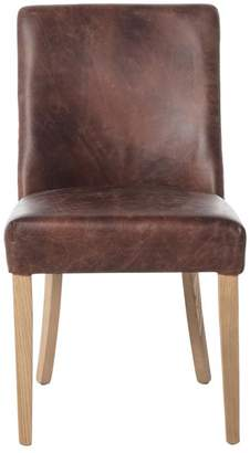 Alliance Furniture Che Dining Chair Distressed Brown