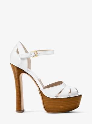 Michael Kors Smith Calf Platform Sandal