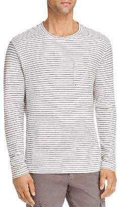 Michael Bastian Striped Knit Crewneck Shirt