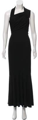 Narciso Rodriguez Pleated Maxi Dress