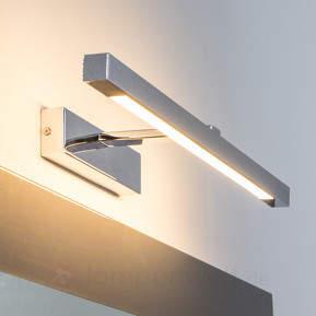 Moderne Spiegellampe Lievan mit LED