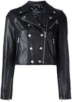 Dolce & Gabbana 短款皮夹克