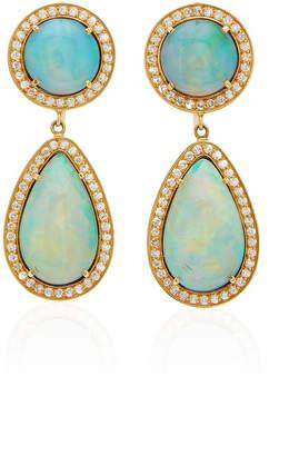 Andrea Fohrman One-Of-A-Kind Kat Opal Earrings