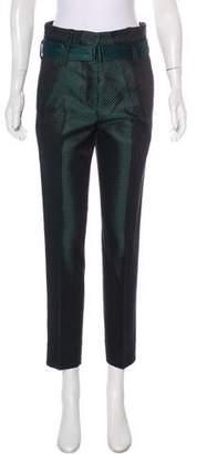 Ann Demeulemeester High-Rise Crop Pants