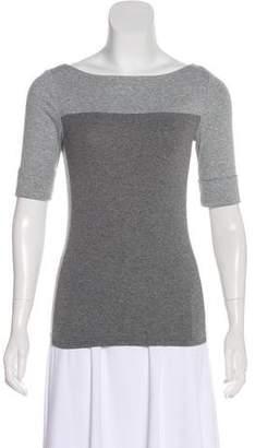 Lauren Ralph Lauren Short Sleeve Knit Top