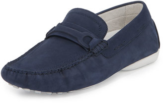 Kenneth Cole Reach Out Suede Driver, Laguna $129 thestylecure.com