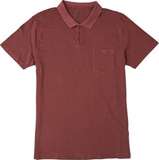 RVCA Men's PTC Pigment Short Sleeve Polo Shirt