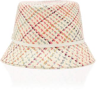 Yestadt Millinery Woven Straw Bucket Hat