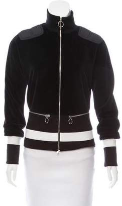Tim Coppens Velour Zip-Up Jacket w/ Tags