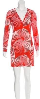 Diane von Furstenberg Reina Silk Mini Dress
