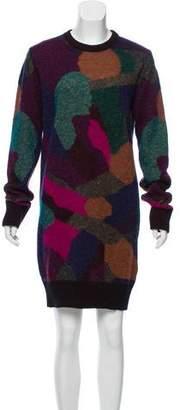Chanel Intarsia Sweater Dress