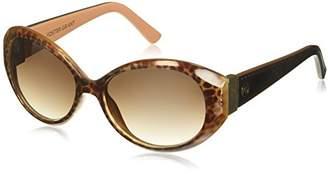 Foster Grant Women's Iman Oval Sunglasses
