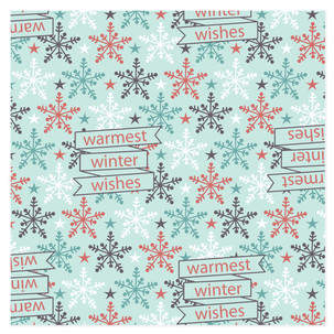 Warm Winter Wishes Self-Launch Wrapping Paper