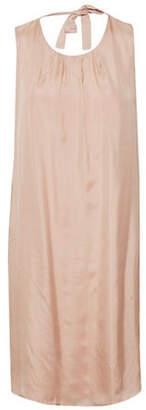 Cream Tessa Silk Dress