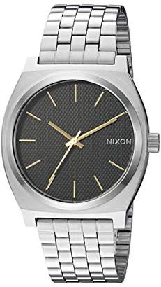 Nixon Time Teller A0452730-00. Silver and Black