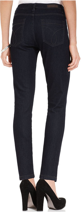 Calvin Klein Jeans Petite Jeans, Stretch Denim Jegging Rinse Wash