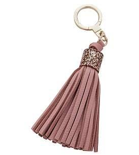 Kate Spade Glitter Cap Tassel Key Fobs