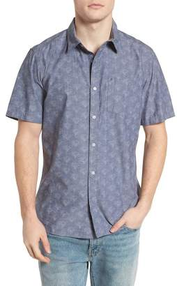 Hurley Pescado Short Sleeve Oxford Shirt