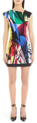 Versace FIRST LINE Clash Print Dress