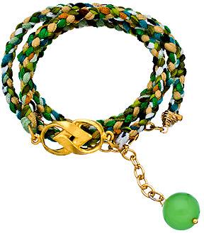 Catherine Page Jolie Wrap Bracelet in Green