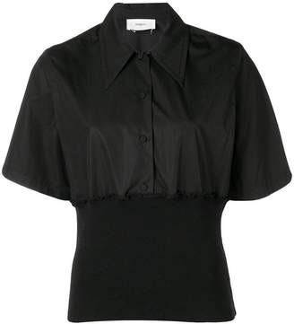Ports 1961 fitted hem shirt