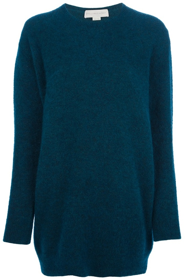 Stella McCartney round neck knit sweater