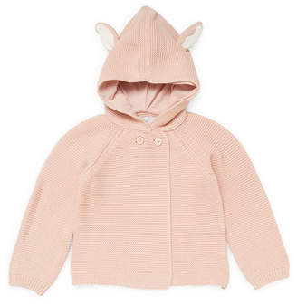 Stella McCartney Smudge Hooded Cardigan