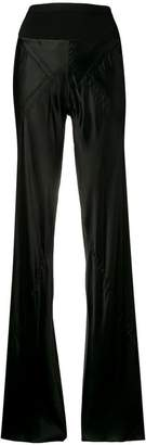 Rick Owens sateen finish trousers